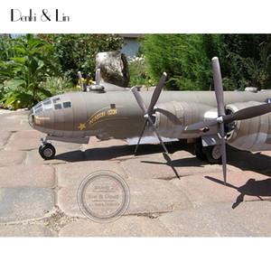 1:47 diy 3d b29 superfortress avião bombardeiro modelo de papel de montar montar trabalho a mão jogo de puzzle diy crianças brinquedo denki lin y190530