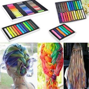 2017 Fashion 24 colori pin non tossico Temporary pastello Piazza Hair Dye Capelli gesso di vendita caldo NO1