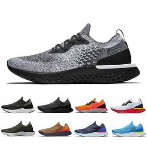 2019 Yeni Epik Anında Git Fly S0UTH Erkekler Belçika Be gerçek Racer Mavi Platin Kadınlar Atletik Spor Spor ayakkabılar 36-45 Koşu ayakkabıları Tepki