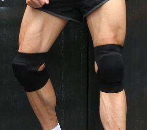 Спорт теплый высококачественный композитный губка танец анти-столкновения наколенник упражнения защитный фитнес баскетбол футбол безопасность якуда обучение