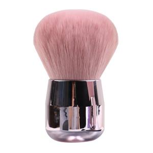 Mushroom Blush Makeup Brush Mini Soft Powder Brush Rose Gold Flat Head Round Head Protable Makeup Brushes Cute Cosmetic Tools HHA-315
