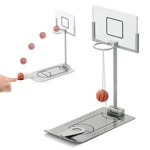Basketball Hoop Mini bureau pliant basketball machine soulagement du stress créatif petit rebond