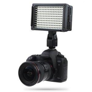 Lightdow Pro High Power 160 LED Luz de Vídeo Camera Camcorder Lamp com três filtros de 5600K para DV canhão Nikon Olympus Câmeras LD-160 BA