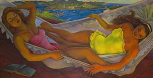 Diego Rivera Die Hängematte Wohnkultur Handbemalte HD-Druck-Ölgemälde auf Leinwand-Wand-Kunst Leinwandbilder 191117