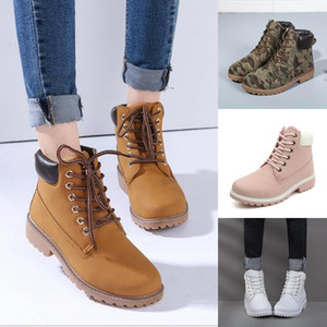 Hot Sale Women Ankle Boots 8 Colors Women Designer Shoes Best Quality Low Heel For Ladies Plus Size Real Photo