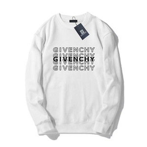 Givenchy 19SS Hommes Femmes Hommes Concepteurs Sweat-shirt à manches longues Pull Lettre Imprimer Pull Marque Streetwear Mode Sweatershirt # 93221