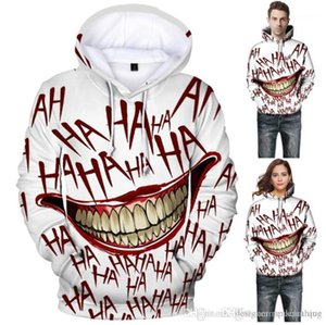 Red bouche Couples hoodies Mode manches longues pour hommes Vêtements HA lettres Imprimer en vrac Hommes Hoodies