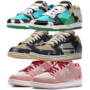 sapatos femininos sapatos da moda Esportes Homens de Retro Levanta Sneakers baixo strangelove Chunky Dunky rosa CT5053-00