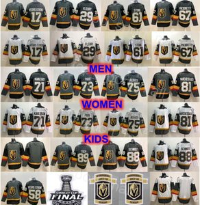 Vegas oro Cavalieri Jersey Marc-Andre Fleury William Karlsson Mark Stone Max Pacioretty Ryan Reaves Jonathan Marchessault Tuch Pirri Hockey