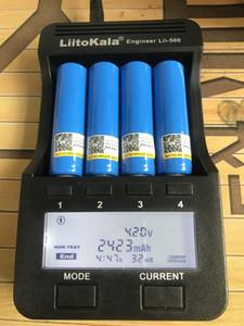 toptan LiitoKala 18650 Pil 3.7V 2200mAh Kapasite Pil Li-po Şarj edilebilir 18650 Pil İçin Araba / oyuncaklar / Fener