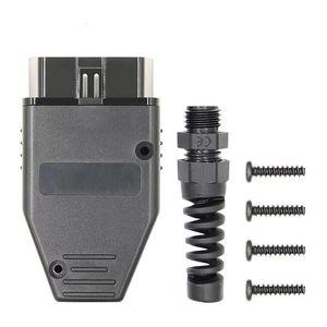 Evrensel OBD2 16 Pin Connector OBD2 Otomotiv Bağlayıcı Tak OBD-II Soket