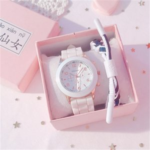 Jelly Watch Japanese Cherry Blossom Cute Girl Net Red Girl Heart Small Fresh Simple Temperament Female Student Ins Wind