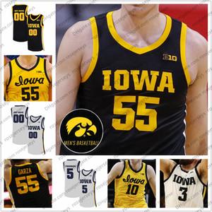 Customized Iowa Hawkeyes pallacanestro Luka Garza Jersey Joe Wieskamp Joe Connor Toussaint McCaffery Jack Nunge Uomo-YOUTH KID Maglie