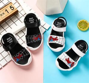 Sapatos Moda Stripe miúdos criança Verão Sandália Children Sneakers macias respirável sapatos confortáveis Meninos Meninas Kid Praia