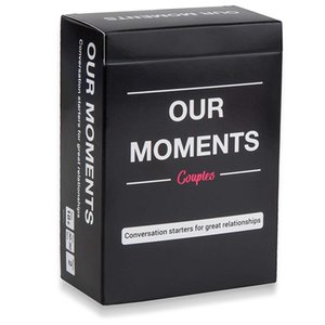 Board Game nossos momentos Casais Cartões de jogo Inglês Versão nossos momentos crianças