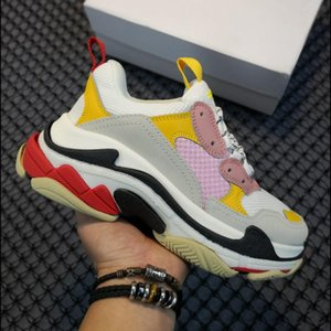 wholesale top quality Designer Shoes Fashion Black White Red Old Dad luxury Sneakers Gym Red Blue Casual Shoes For Men Women Platform schuhe