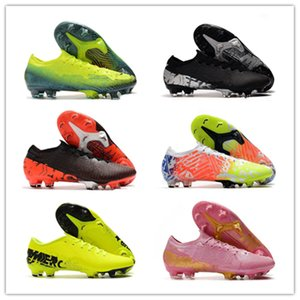2020 Top Quality Men Mercurial Vapors XIII Elite FG 13 CR7 Ronaldo Neymar NJR Dream Speed Soccer Football Cleats Shoes Size 39-45