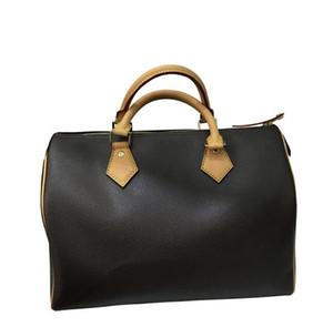 2020 High quality oxidize cowhide speedy 25cm 30cm 35cm Hot Sell Fashion bag women bag Shoulder Lady Totes handbags bags free Hot stamping