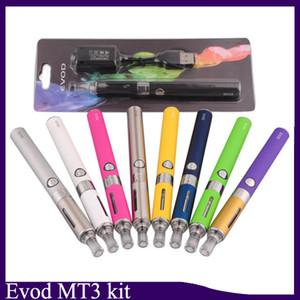Evod MT3 блистерные стартовые наборы Набор электронных сигарет mt3 баки 1100mAh Распылитель EVOD Clearomizer Evod аккумулятор vape pen 0209019-1