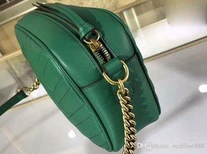 5A Üst Kalite 447.632 24cm Marmont küçük Matelaz omuz çantası, Toz torbası Seri Numarası Box, Serbest Kargo ile gel