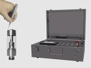 vape semi auto pequeño llevar máquina de llenado de aceite de cartucho maleta vape para ac1003 BKS carros con dispositivos de mantenimiento de calor la mano