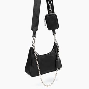 sac concepteur gros sacs à bandoulière de luxe hommes sac messager de la mode et les femmes sac universel axillaire chaîne trois dans une tendance de style design