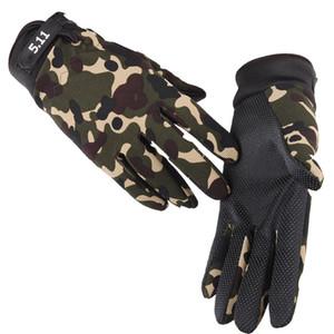 Men Women Fitness Non-slip Wear-resistant Riding Gloves Outdoor Sport Driving Gloves Full Finger Gloves