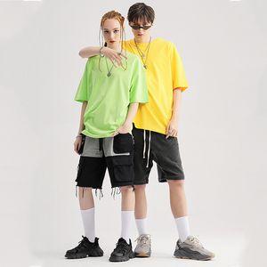 Plain Oversized T shirt Men Short Sleeve Hip Hop Heavy Cotton Streetwear Oversized T-shirt Nxcaps Wholesale