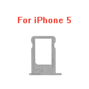 10pcs lot SIM Card Holder Tray Slot for iphone 5 S C 5C 5S 5G SE 5SE Replacement Part SIM Card Card Holder Adapter Socket Apple