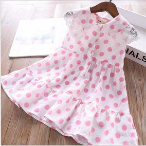 кружевной воротник точки платья для девочек Шумера рукавов платья девушки хлопка балетной пачки оптового