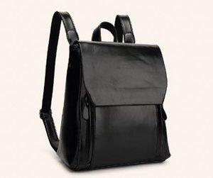Designer-femmes cuir sac à dos sacs en cuir femme sac de Voyage vent institut de marée sac d'école étudiant brevet