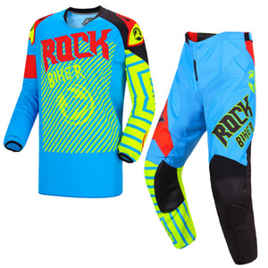 ROCK BIKER KILA Dirt Bike Ensembles Vélo VTT VTT Motocross Equitation Jersey Costume Racing Vêtements Gants Ensembles Vélo