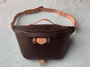 Designer mais novo stlye famosa marca Bumbag Cross Body Bag Ombro Autn Material Sacos de Cintura Bumbag M43644 Cross Fanny Pack Bum Cintura Sacos