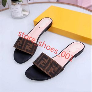 New Women summer Camellia slippers xshfbcl sandals flip flops sandals flat slippers Europe station with flat Fashion caluas sandals 2020