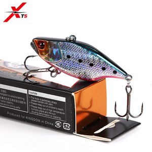 Cheap Lures XTS Fishing Bait 70mm 10.5g Artificial VIB 11 Colors Sinking Crankbait 2 Sharp Hooks Quality Fishing Tackle Jerkbait 5297