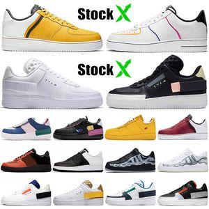 Nike Air Force 1 N354 N.354 Type airforce AF1 Venta al por mayor marca de mejor calidad barata tipo hombres mujeres zapatos para correr blanco MAC zapatillas de deporte zapatos