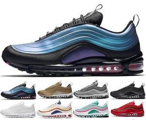2019 venta al por mayor 97 zapatillas de deporte con cojines Zapatillas de deporte nuevas y de calidad superior Zapatos casuales zapatos deportivos de cuero planos clásicos Tamaño 36-45