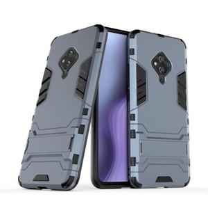 Para Vivo S5 Classic Case Ultra-Thin dura do PC Back Cover Luxo Etiqueta colorida capa protetora para Vivo S5