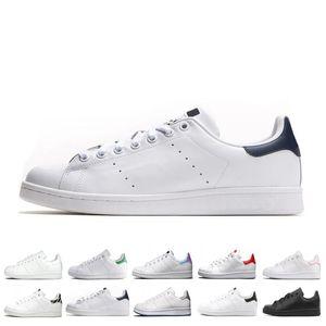 Précipité smith hommes femmes chaussures stan noir blanc rouge bleu argent rose baskets smith Casual chaussures leathe taille 36-44