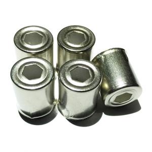 icrowave Forno Parts 5pcs / Lot Magnetron Aço Cap microonda substituição Hexagonal Buraco tom de prata Início de cozinha Appliance Parts Acces ...