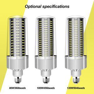 LED luminoso eccellente E27 Lampadina del cereale 80W-200W lampada LED 110V 220V Intelligente IC E39 E40 Big Power per parco giochi all'aperto Magazzino illuminazione.