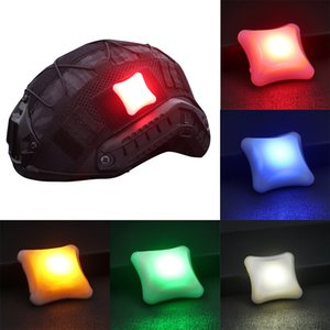 Outdoor Tactical Signal LED Light Velcro Indicators Helmet Light Survival Lamp Waterproof Military Molle Hunting Vest LED Light