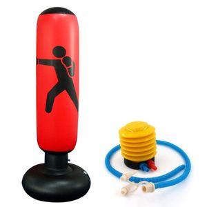 Boxe Matériel de formation Kickboxing Muay Sac gonflable libre stand Tumbler presse Punching Sandbag pour adultes Enfants d'achat en ligne