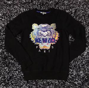 2019 Новый Tiger Head Hoodie Дизайнер Вышитые мужские женские Кофты Осень Зима Мужская Толстовки Повседневный Streetwear Jogger Tracksuit