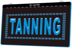LS1797 Tanning Shop-Sun Lotion Neue 3D-Gravur LED-Licht-Zeichen anpassen on Demand Multiple Color