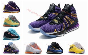 2020 High Quality Kids LeBron 17 Bron 2k Basketball Shoes Sales James 17 Men Women Sneakers store free shipping Xshfbcl Size36-46