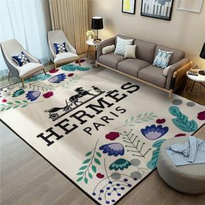 Color Imprenta de alfombras de poliéster Alfombra Equipamiento del hogar Frente dormitorio puerta de la estera de lujo de alta calidad de impresión del caballo de alfombras