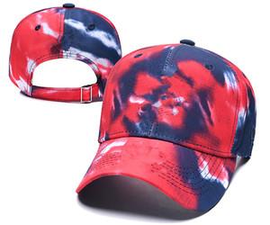 Mayor de alta calidad de fundido de béisbol de Cleveland capsula los sombreros de visera curvada casquette sombreros de algodón 100% Gorras hueso golf del sombrero del Snapback