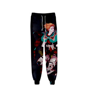 Anime Hunter X Hunter 3D Stampato Sweatpants Baggy moda di Harajuku Jogger pantaloni Hisoka Pantaloni sportivi Streetwear uomini / donne di pantaloni