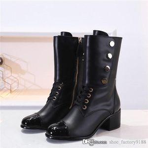 hiver automne dernières bottines alphabet, talon haut BOOTS ,, sur le cuir du genou bottillons Martin Chaussures Femmes neige Taille 35-40